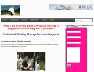 eweddingmontage.com screenshot