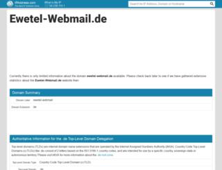 Ewetel Email