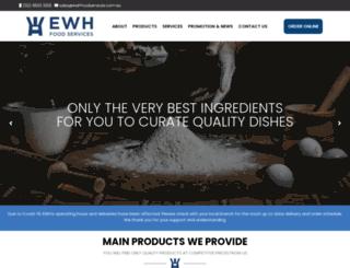 ewhfoodservices.com.au screenshot