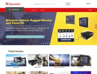 ewinsonic.com screenshot