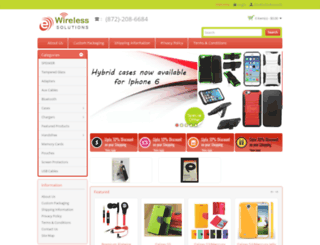 ewirelesssol.com screenshot