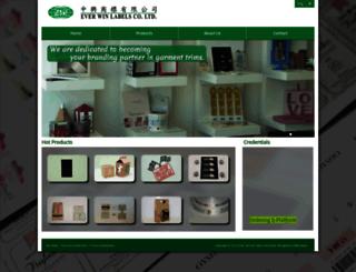 ewlabel.com.hk screenshot