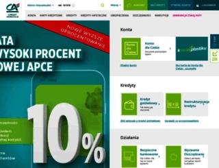 ewniosek.credit-agricole.pl screenshot