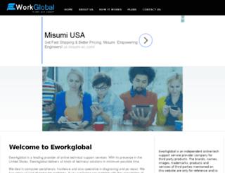 eworkglobal.com screenshot