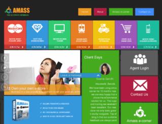 eworld.amassindustry.com screenshot