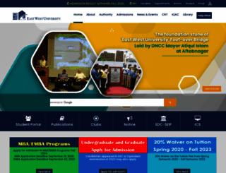 ewubd.edu screenshot