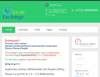 ex-dt.com screenshot
