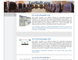 ex4-to-mq4-decompiler.lotsoft.org screenshot