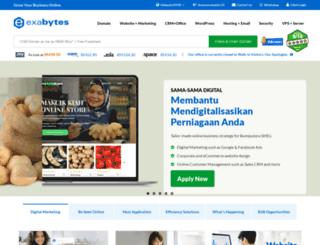 exabytes.com.my screenshot
