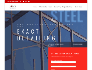exactdetailing.com screenshot