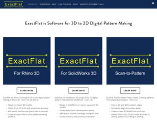 exactflat.com screenshot