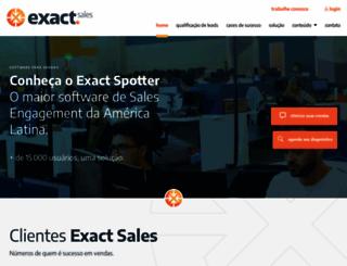 exactsales.com.br screenshot