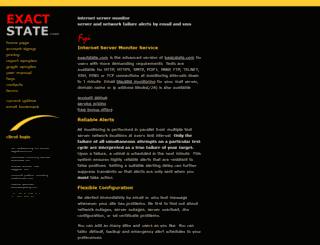 exactstate.com screenshot