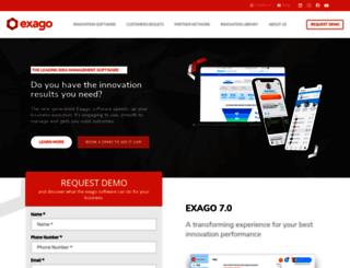 exago.com screenshot
