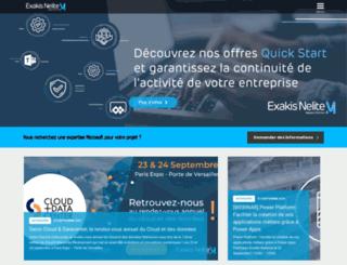 exakis.com screenshot