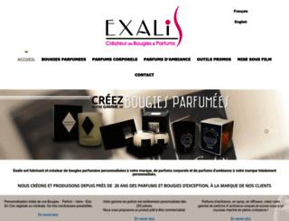 exalis.fr screenshot