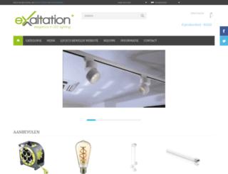 exaltationlighting.com screenshot
