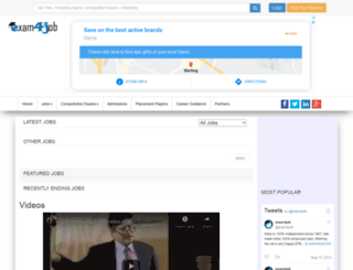 exam4job.com screenshot