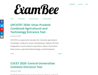 exambee.in screenshot