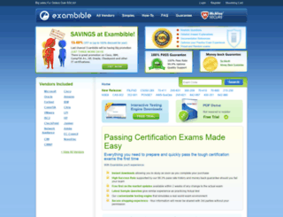 exambible.com screenshot