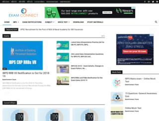 examconnect.com screenshot