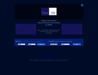 examespapaizassociados.com.br screenshot