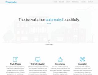 examinater.srushti-soft.com screenshot