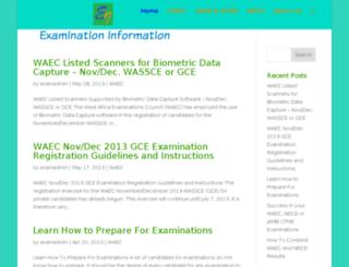 examination-info.blogspot.com screenshot