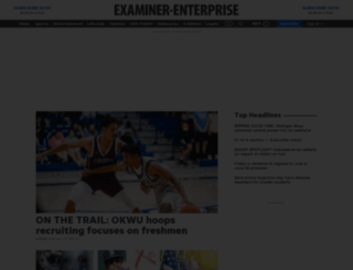 examiner-enterprise.com screenshot