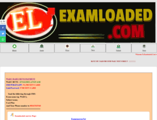 examloaded.com screenshot