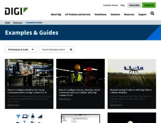 examples.digi.com screenshot