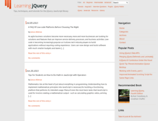 examples.learningjquery.com screenshot