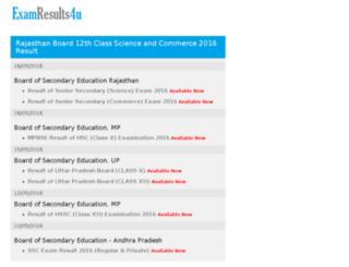 examresults4u.com screenshot