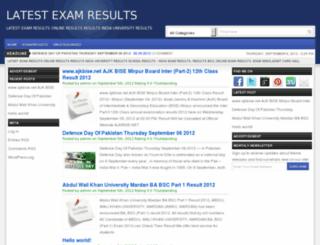 examresultsi.com screenshot