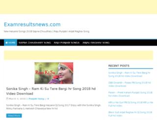 examresultsnews.com screenshot