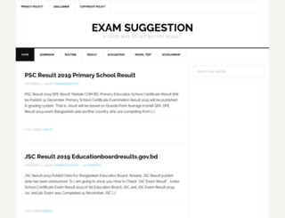 examsuggestion.com screenshot