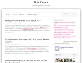 examuni.in screenshot