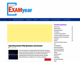 examyear.com screenshot