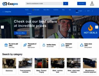 exapro.com screenshot