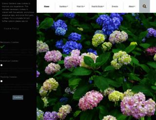 exbury.co.uk screenshot