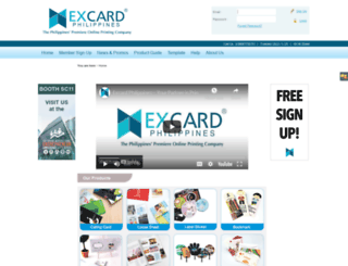 excard.com.ph screenshot