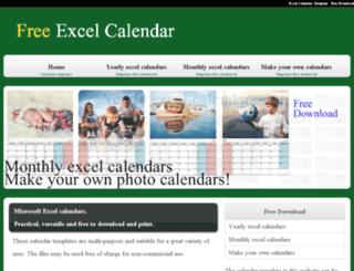 excel-calendar.net screenshot