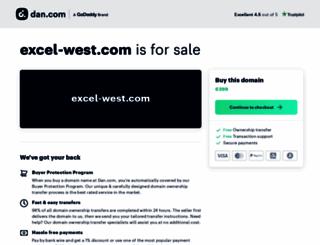 excel-west.com screenshot
