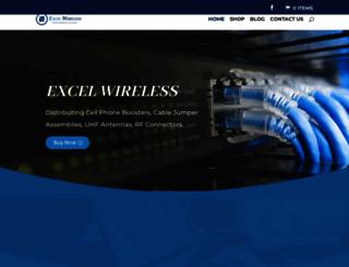 excel-wireless.com screenshot