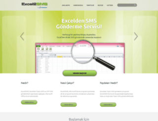 excel2sms.com screenshot
