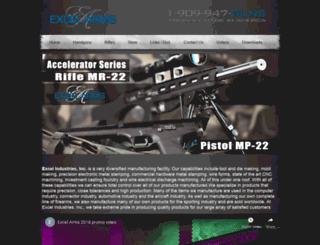 excelarms.com screenshot