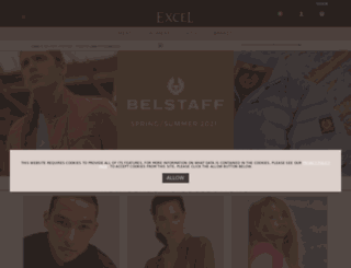 excelclothing.ie screenshot