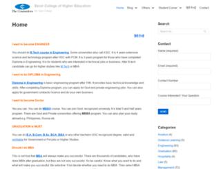 excelcollegeindia.com screenshot