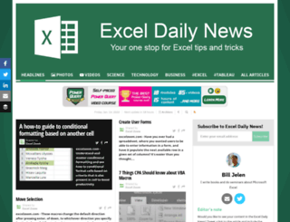exceldailynews.com screenshot