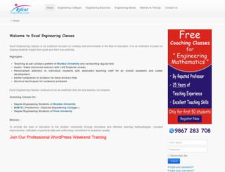 excelengineeringclasses.com screenshot